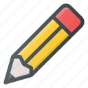 draw, pencil, sketch, tool icon