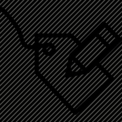 attributes, block, cad, computer aided design, edit icon