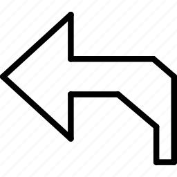 cad, computer aided design, undo icon