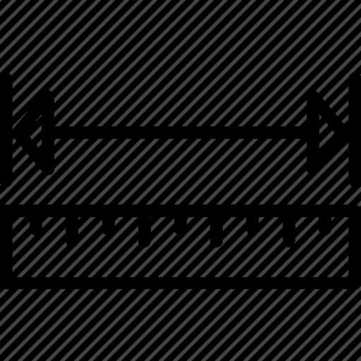 cad, computer aided design, measure icon