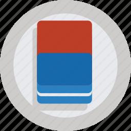 design, eraser, remove icon