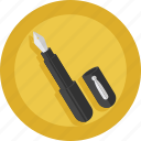pen, write, writer icon
