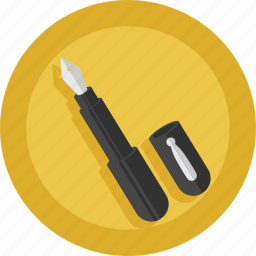 pen, write, writer icon
