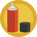 artist, creative, design, graffiti, paint, painter, spray icon