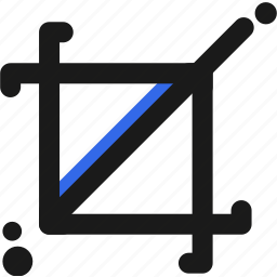 area, canva, design, draw, layout icon