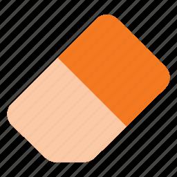 clean, clear, eraser, gum, rubber icon