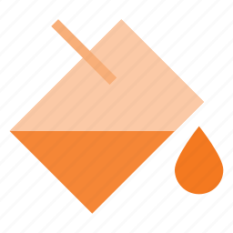 bucket, color, fill, paint, tooll icon