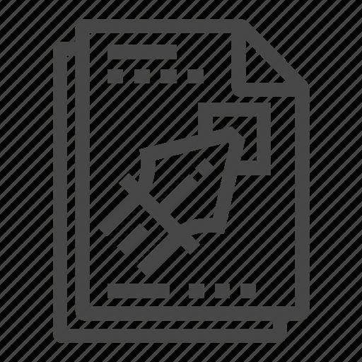 bezier, curve, design, document, vector icon