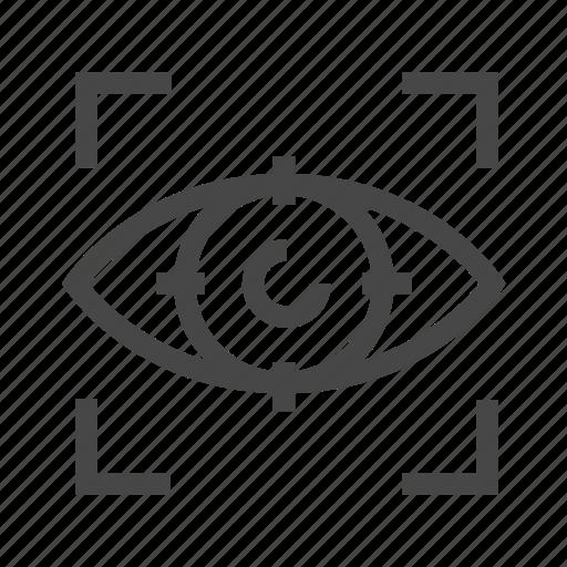 design, tool, view icon
