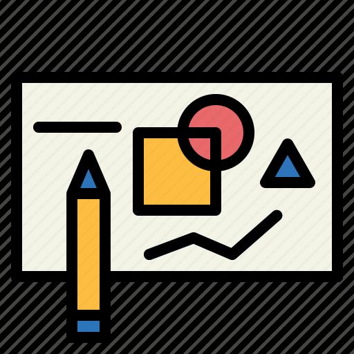 draft, plan, sketch, sketching icon