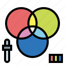 color, print, products, rgb, scheme icon