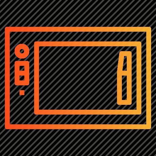 design, graphic, tablet, wacom icon