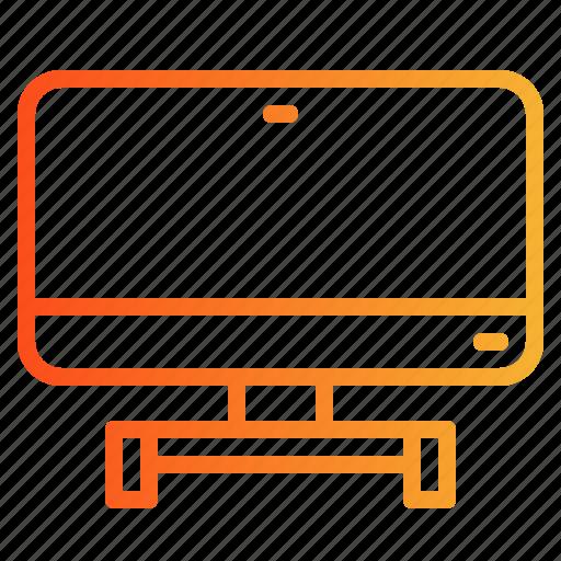 monitor, screen, television, tv icon