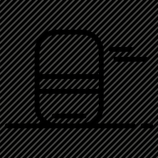clean, education, erase, eraser, remove icon