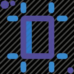 adjust, format, sheet, size icon