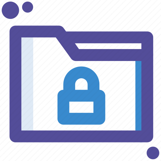 file, folder, lock, private, secure icon