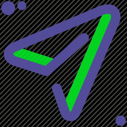 air, plane, send, share icon