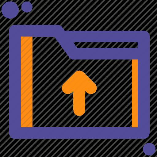 cloud, file, folder, upload icon