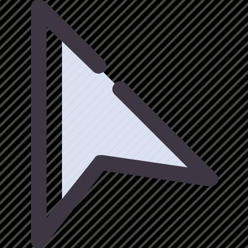 Cursor, mouse, pointer, select icon
