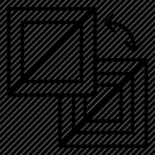 illustrator tool, interchange tool, replacement, substitution, swap tool icon