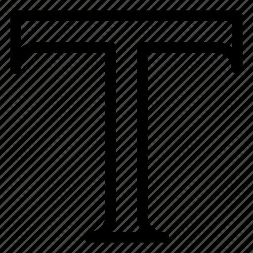 design, line-icon, text, tool, type, type-tool, write icon