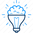 artistic, bulb, creative, creativity, design, designing, idea icon