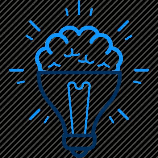 artistic, bulb, creative, creativity, design, designing, idea icon