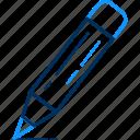 artistic, creative, creativity, designing, draw, edit, pencil icon