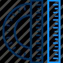 artistic, creative, creativity, design, designing, graphic, ruler icon
