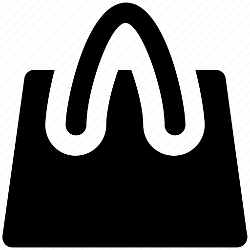 bag, online store, paper bag, shopper bag, shopping bag, supermarket bag, tote bag icon