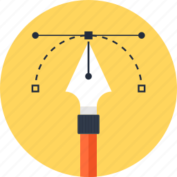 app, application, art, design, development, draw, illustration, nib, pen, pencil, software, tool icon