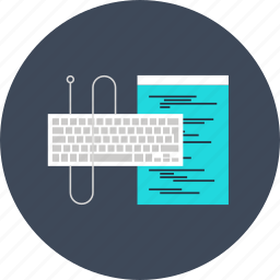 app, application, coding, computer, development, keyboard, program, software, technology, web icon