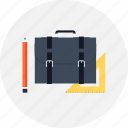 bag, briefcase, business, design, development, document, office, portfolio, professional, suitcase icon