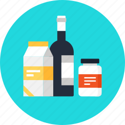 brand, business, commerce, container, design, drink, marketing, package, product, shopping icon