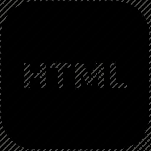 code optimization, div, html coding, html language, html tag, web coding icon