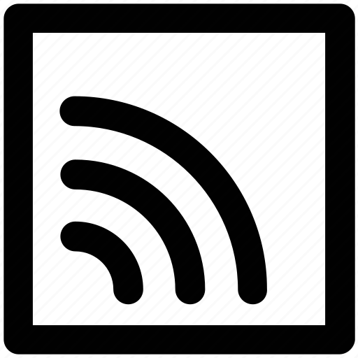 communication, hotspot, internet fidelity, podcast, rss sign, wifi waves, wireless internet icon