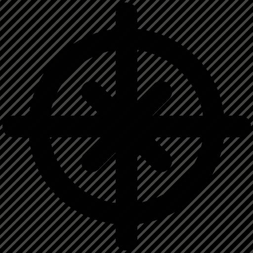 aim, aimpoint, crosshair, focus, goal, shooting target, target icon