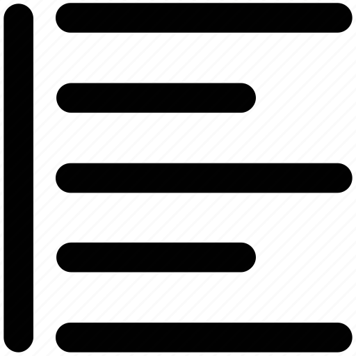 align, alignment, left align, rows, text, text editing, text format icon