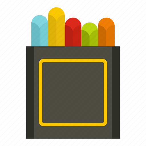 activity, art, artist, artwork, crayons, learning, wax icon