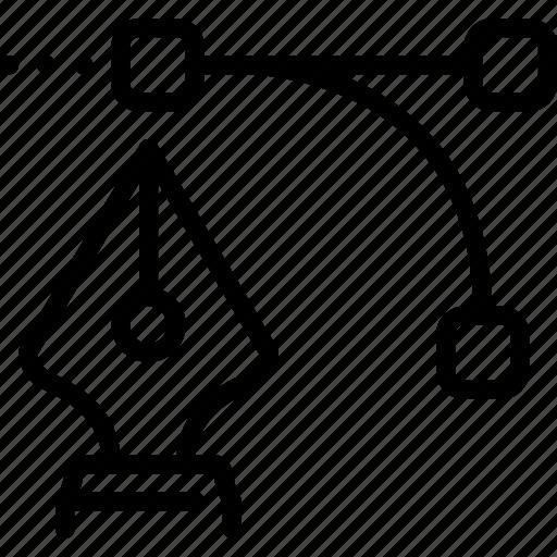 art, design, drawing, graphic, grid, pen icon