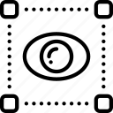 art, design, eye, graphic, grid, view icon