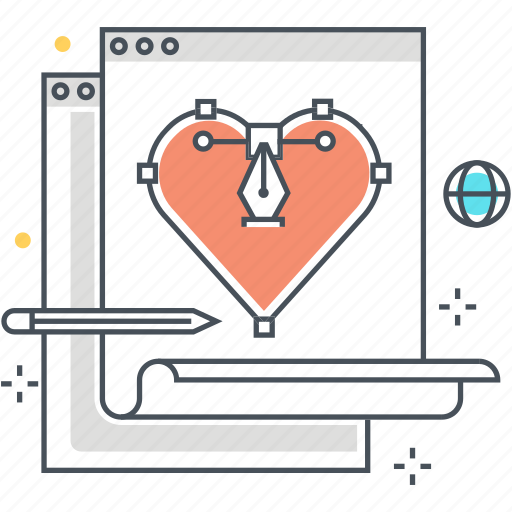 heart, interface, layout, love, user experience, ux, web icon