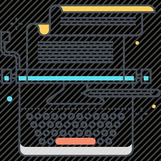 copy, copywriting, document, keyboard, text, typewriter, writing icon