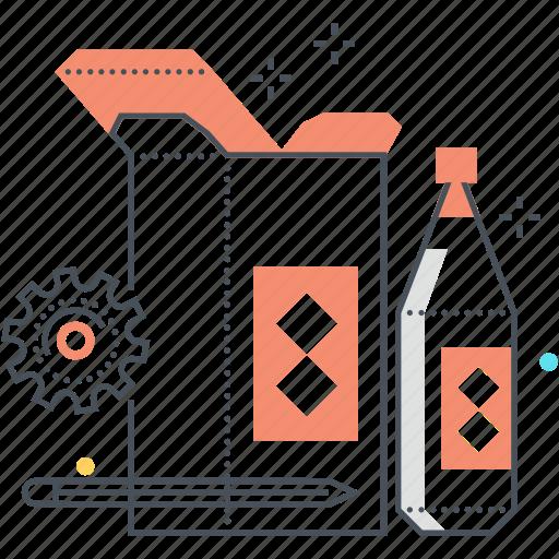 bottle, box, design, mock up, product icon