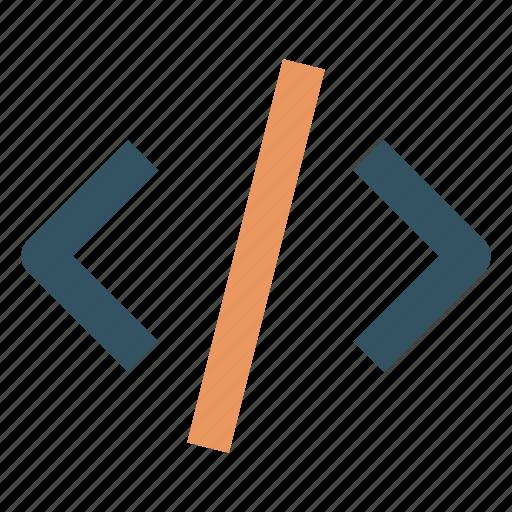 code, design, development, editing, programming, text icon