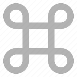 command, design, development, key icon