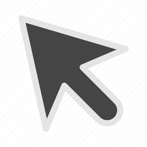 cursor, design, development, mouse, pointer icon