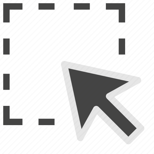 cursor, design, development, drag, pointer, select icon