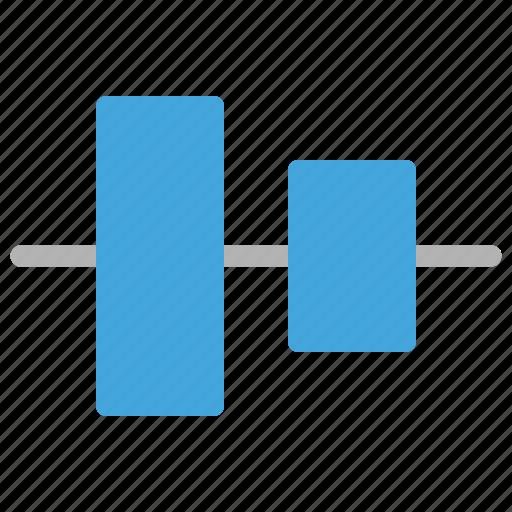 align, design, development, vertical icon