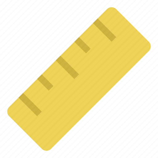 design, education, measure, ruler, scale, school, tool icon